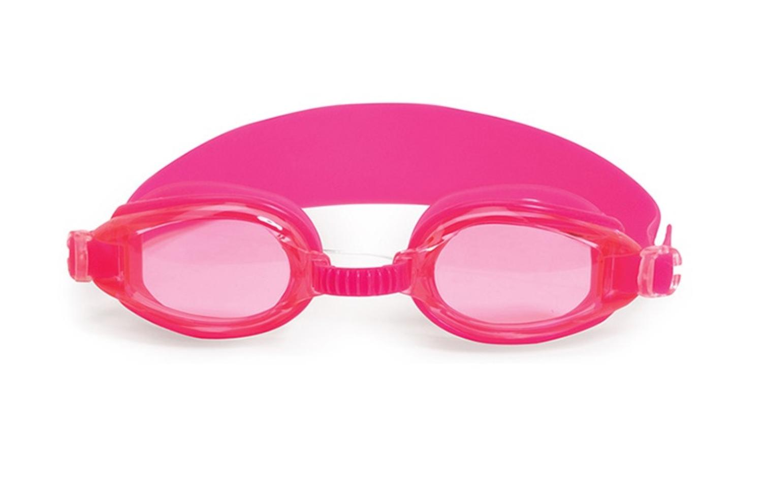 """6.25"""" Advantage Pink Goggles Swimming Pool Accessory for Juniors by Swim Central"""