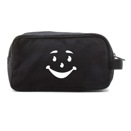 Kool Aid Man Face Canvas Shower Kit Travel Toiletry Bag