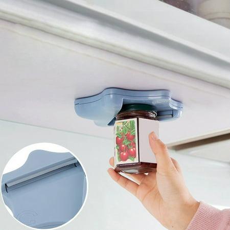 Jar Countertop (Jar Opener Under Kitchen Cabinet Counter Top Lid Remover Arthritis Pack Of 2)