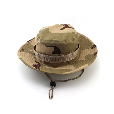 9da26d6b813 Sun Protection Tactical Boonie Hat Quick Drying Fishing Hats for Men  Women