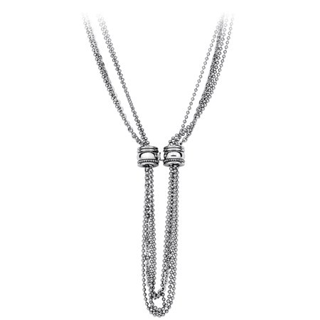 Calvin Klein Jeans Jewelry Waves Silver Necklace