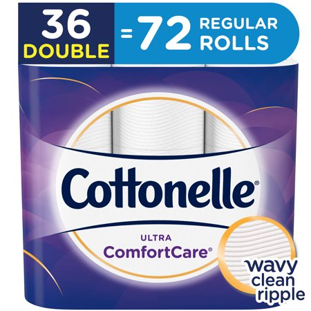 Cottonelle Ultra Comfort Care, 36 Double Rolls, Toilet Paper