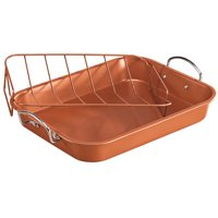 Copper Roasting Pan with Rack