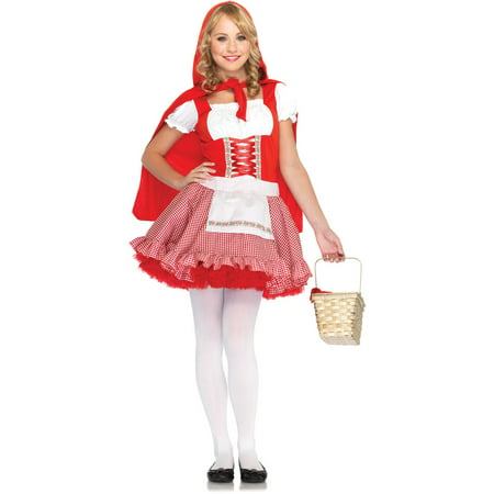 Leg Avenue Teen Girl's Junior Red Riding Hood Costume](Red Riding Hood Costume Teenager)