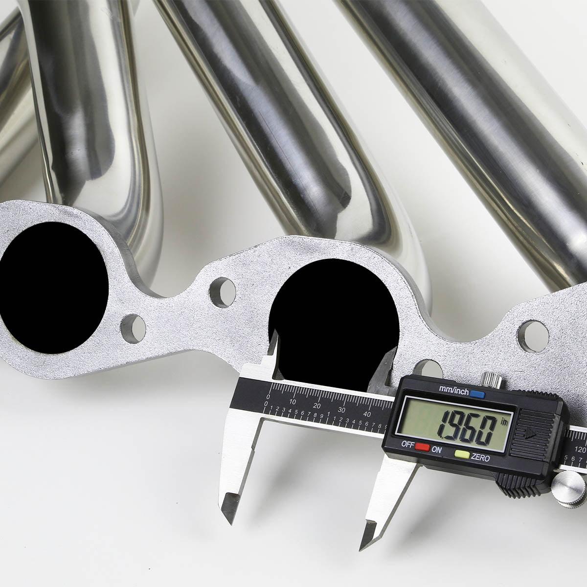 396 402 427 454 For Chevy Big Block Long Tube V8 4-1 Design 2-PC Stainless Steel Exhaust Header