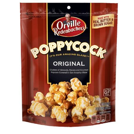 - (4 Pack) Orville Redenbacher's Poppy Cock Snack, 7 oz. bag