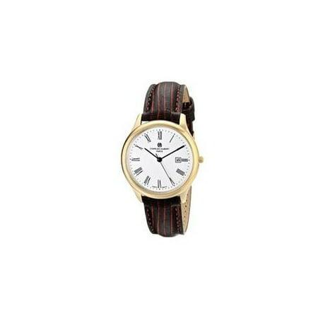 Charles-Hubert, Paris Women's 6960-G Premium Collection Analog Display Japanese Quartz Brown Watch ()