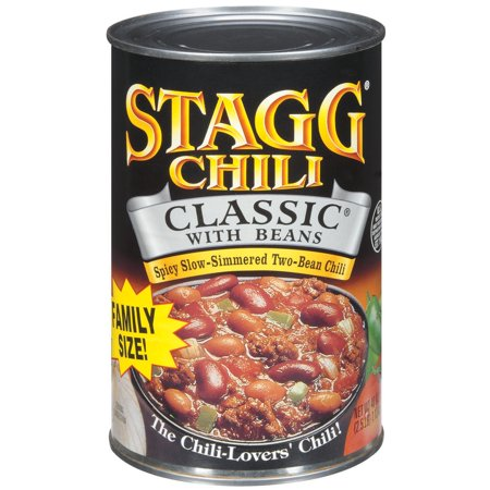 Stagg Chili Classic W Beans Family Size Chili 40 Oz Can