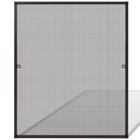 """HERCHR Brown Insect Screen for Windows 39.4""""x47.2"""""""