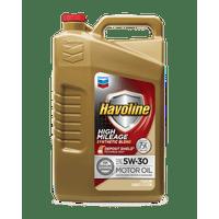 Havoline 223681474 5W-30 5Qt. High Mileage Motor Oil