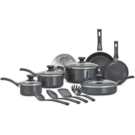 Tramontina 15-Piece Select Non-Stick Cookware Set, Gray
