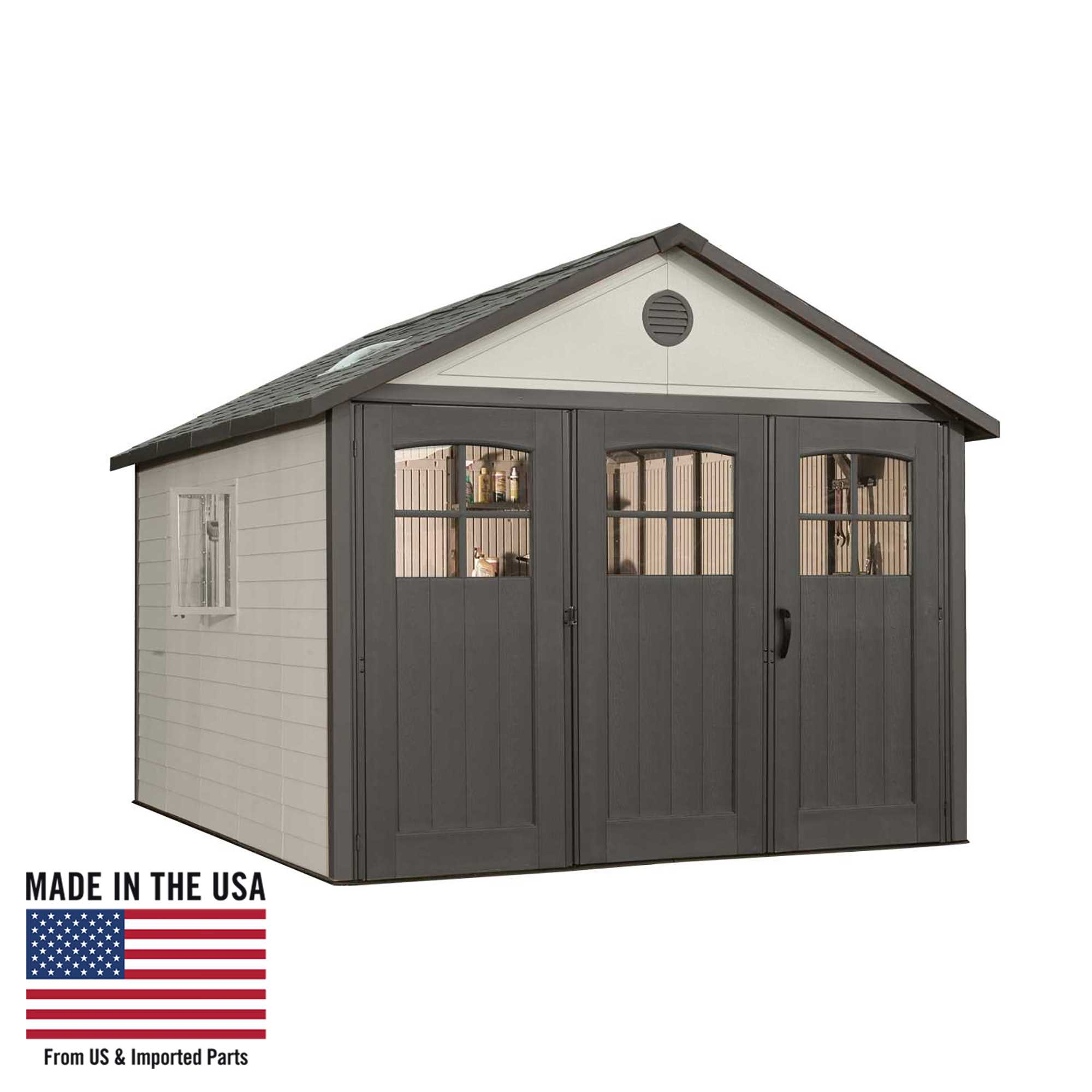 Lifetime 11 Ft. x 11 Ft. Outdoor Storage Shed, 60187