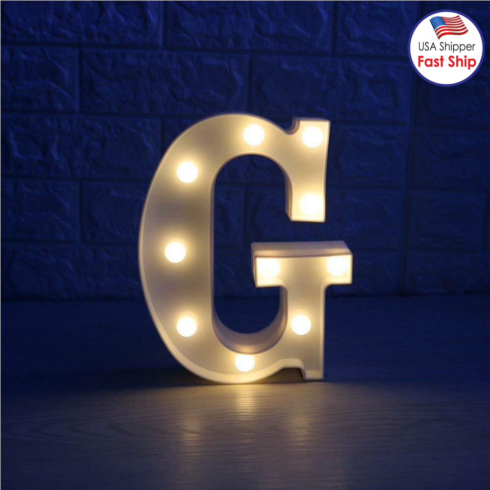 Amzer Decorative Led Illuminated Letter Marquee Sign