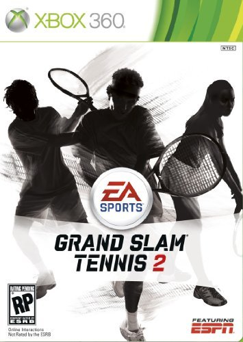 Grand Slam Tennis 2, EA, XBOX 360, 014633196719