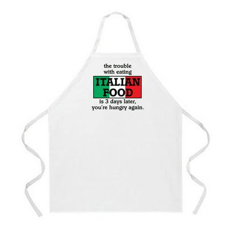 Italian Food Aprons by LA Imprints Novelty Gift Kitchen Bar Grill Humor Funny Attitude