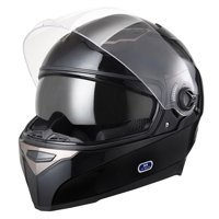 efbf10fd Product Image Yescom DOT Full Face Motorcycle Helmet Dual Visors Sun Shield  Lightweight ABS Air Vent Motorbike Touring