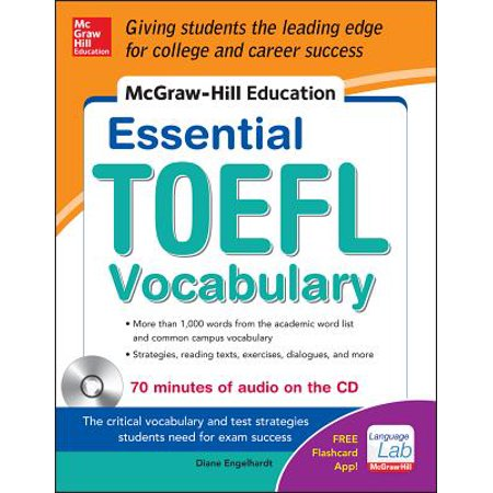 - McGraw-Hill Education Essential Vocabulary for the Toefl(r) Test with Audio Disk