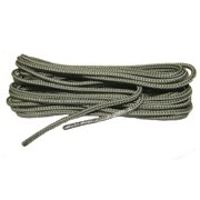 84 Inch 213 cm US Air Force Sage Green Nylon Speedlace; Tactical Combat Boot Laces; Fused aglet shoelaces (2 Pair Pack)