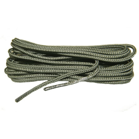 Force Sage Green - 60 Inch 152 cm US Air Force Sage Green Nylon Speedlace; Tactical Combat Boot Laces; Fused aglet shoelaces (2 Pair Pack)