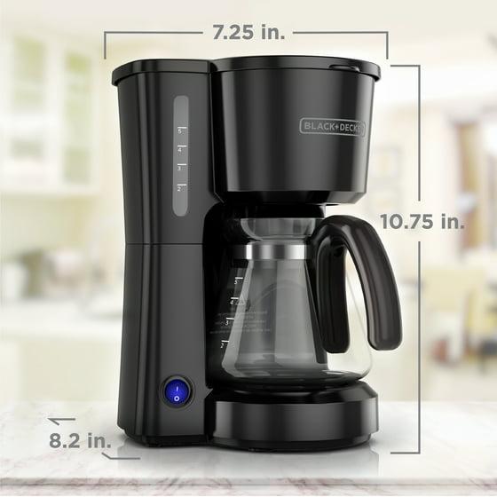 BLACK DECKER 5 Cup Coffee Maker Black CM0700B Walmart #1: 1ade405b e25e 4cc5 98ca df8784c77d71 2 c b f db5699fa9f9632