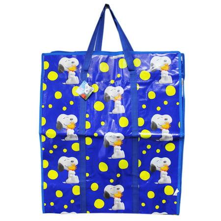 - The Peanuts Movie Yellow Polka Dot Snoopy Jumbo Tote Bag