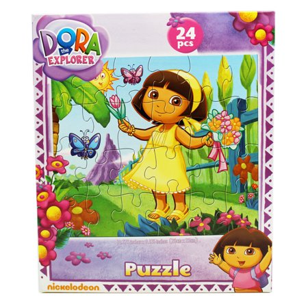 (Dora the Explorer Flowers and Butterflies Kids Jigsaw Puzzle (24pc))