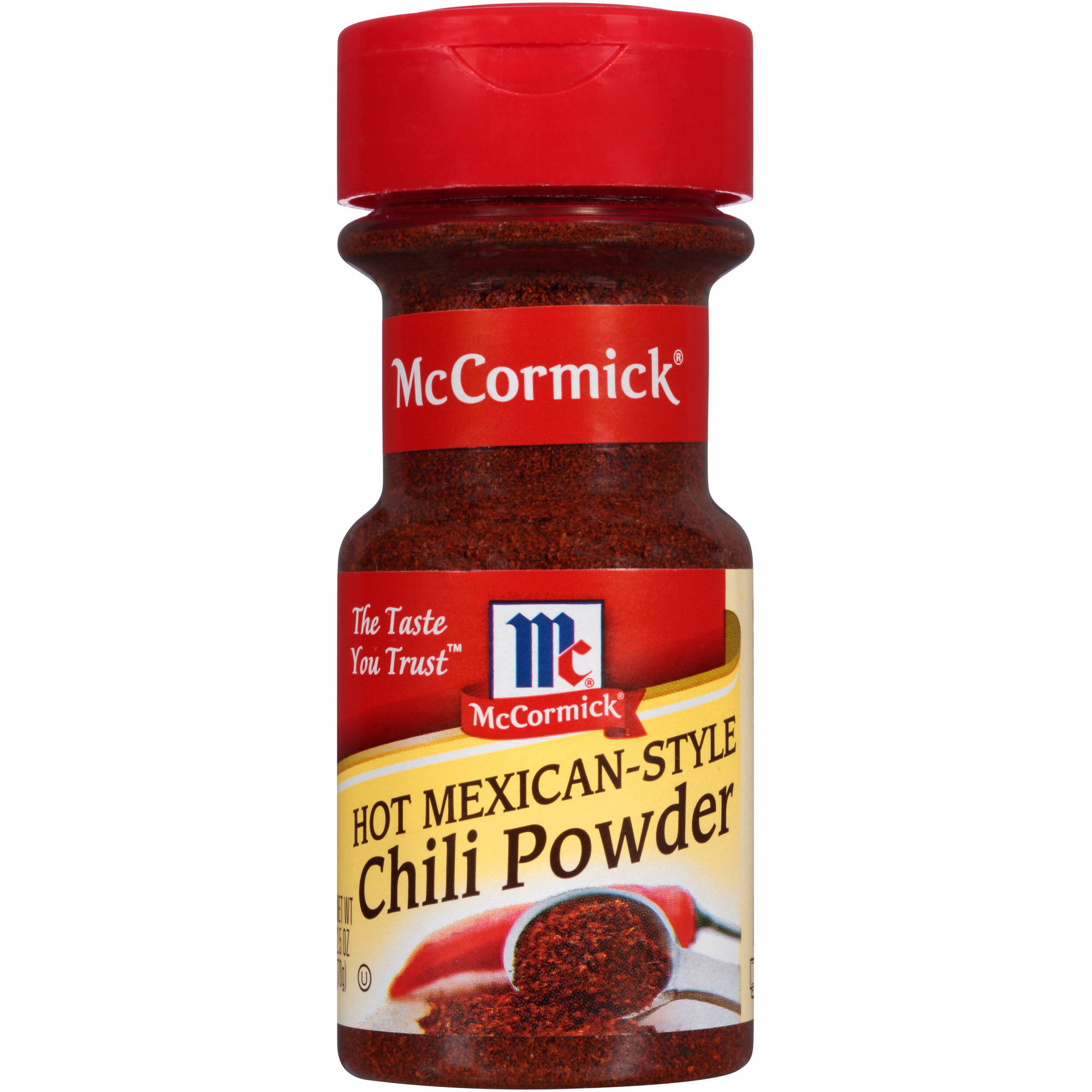 McCormick Hot Mexican-Style Chili Powder, 2.5 oz