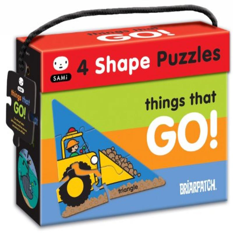 Briarpatch SAMi 4 in 1 Vehicles Shapes Puzzle