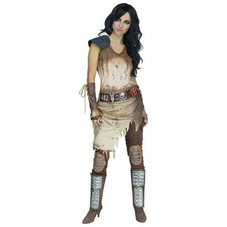 Apocalypse Warrior Women's Halloween Costume (Zombie Apocalypse Prank Halloween)