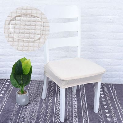 Amazing Shopfive Home Waterproof Chair Cover Fabric Stretch Split Stool Cover Seat Cover Waterproof Universal Size Seat Cover Machost Co Dining Chair Design Ideas Machostcouk