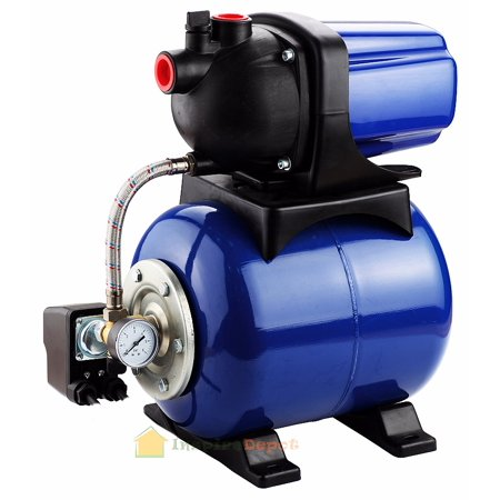 "STKUSA 1.6HP 1"" Shallow Well Jet Water Pump, plus Tank"