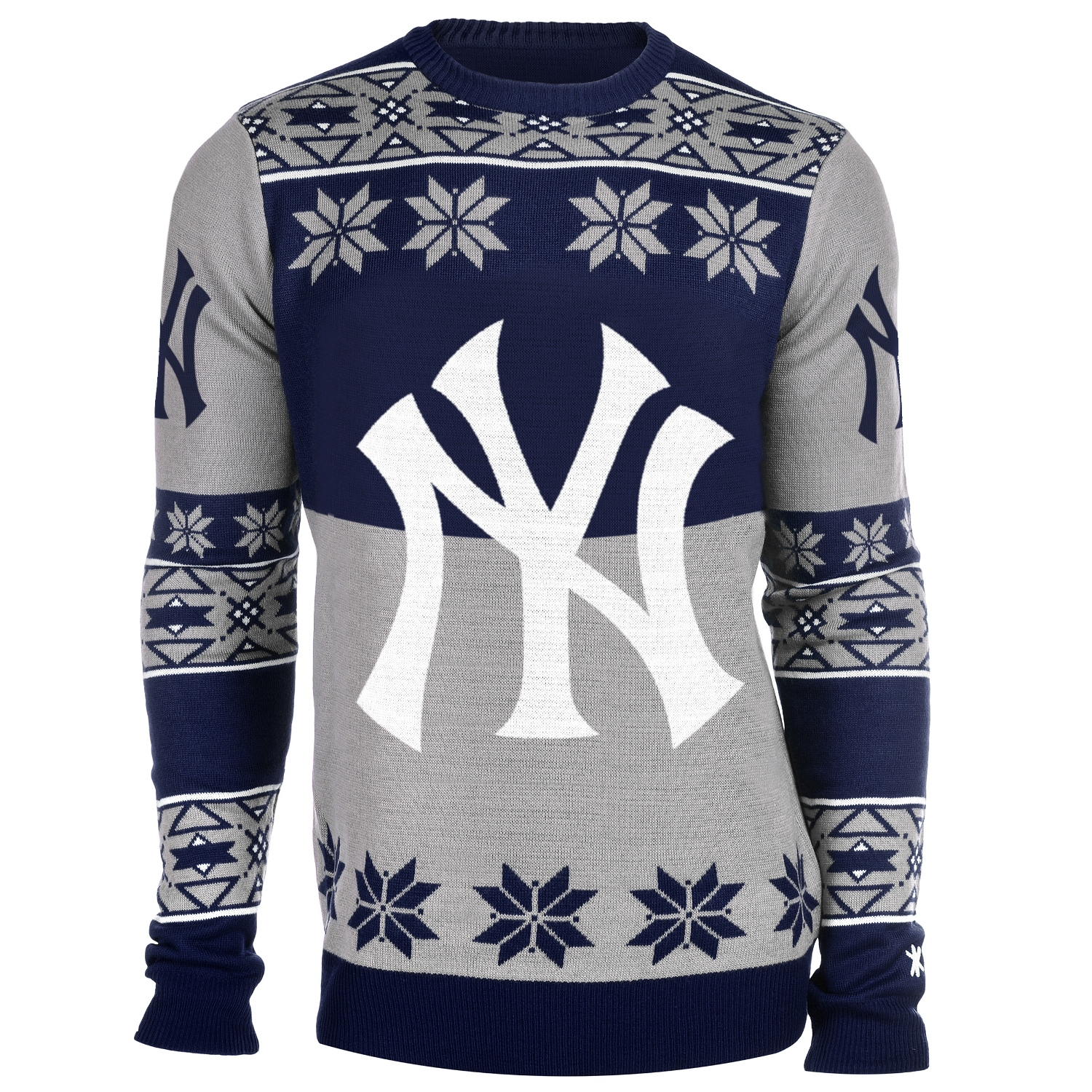 "New York Yankees MLB Men's ""Big Logo"" Ugly Sweater"