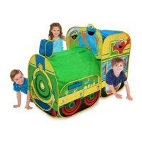 Deals on Playhut Sesame Street Express Train Play Tent 71668SS