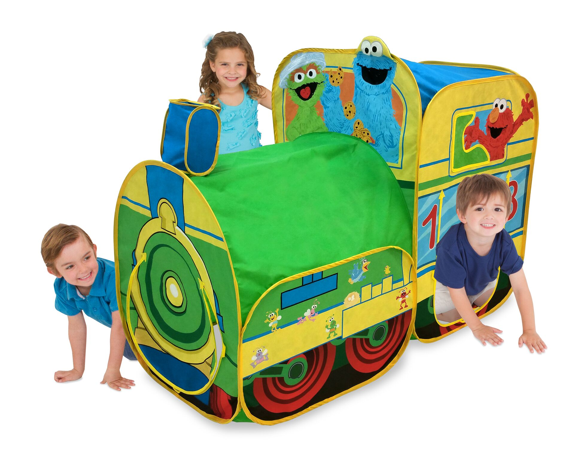 Playhut Sesame Street Express Train Play Tent  sc 1 st  Walmart & Playhut Sesame Street Express Train Play Tent - Walmart.com
