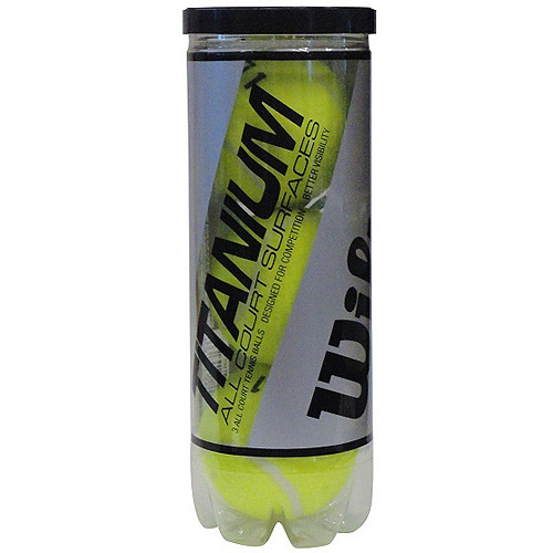 Wilson Titanium 3 High Alt Tennis Ball - 1 Can of 3 Balls