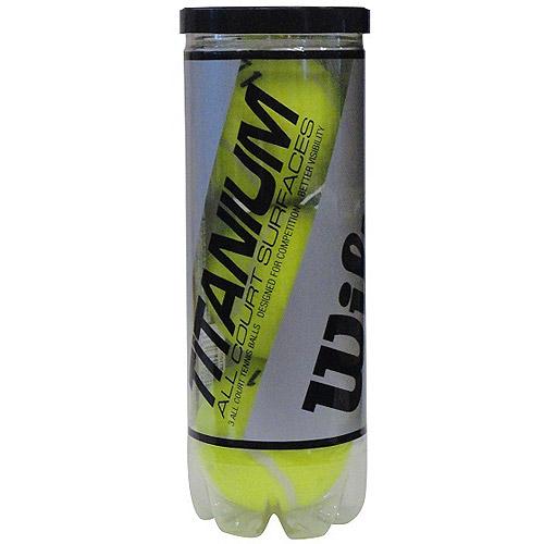 Wilson Titanium 3 High Alt Tennis Ball - 1 Can of 3 Balls