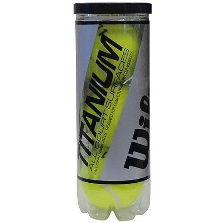Wilson Titanium 3 High Alt Tennis Ball   1 Can Of 3 Balls