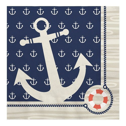 Ahoy Nautical - Luncheon Napkins (16 count)