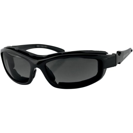 Bobster Eyewear Road Hog II Convertible and Interchangeable Sunglasses (Black)