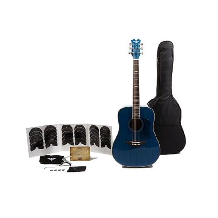 Keith Urban American Vintage Acoustic Edition 40-pc Guitar Package, Lapis Blue Right Handed