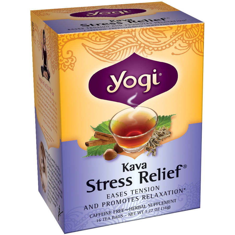 Yogi Kava Stress Relief Tea Bags, 16 ct