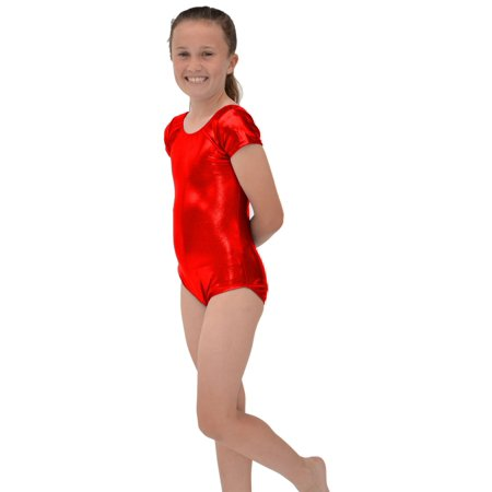 5832cc36f Stretch is Comfort - Girl s Mystique Spandex Leotard - Small (6 ...