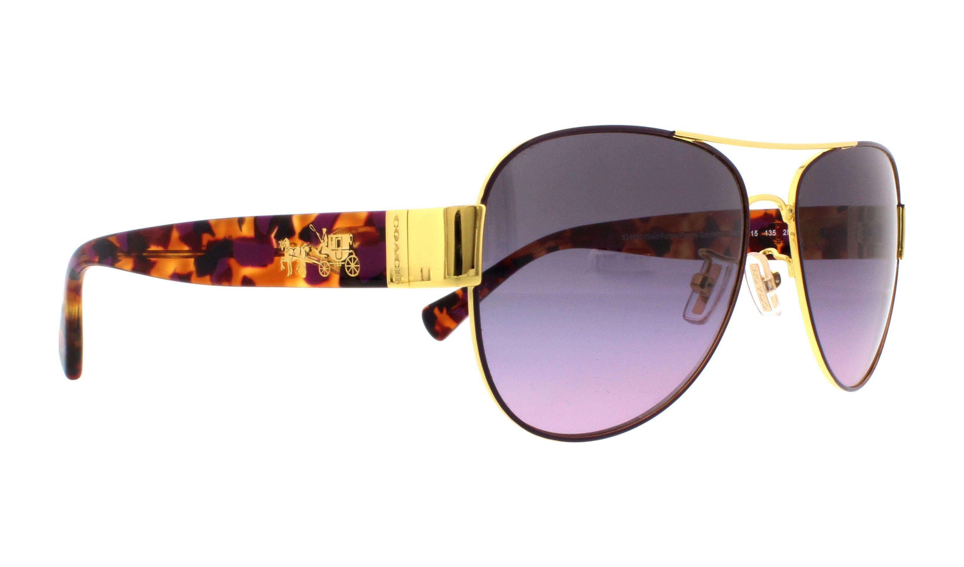 bbfd84929de9 ... switzerland coach sunglasses hc 7059 9238t5 gold dark tortoise 58mm  walmart bf769 a0f64