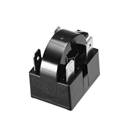 33 ohm 4 pin refrigerator ptc starter relay. Black Bedroom Furniture Sets. Home Design Ideas