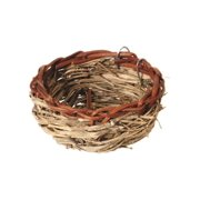 Prevue Pet Products 1150 Mat Grass and Bamboo Canary Twig Nest, 3-1/2 Inch Diameter x 1-1/2 Inch Height