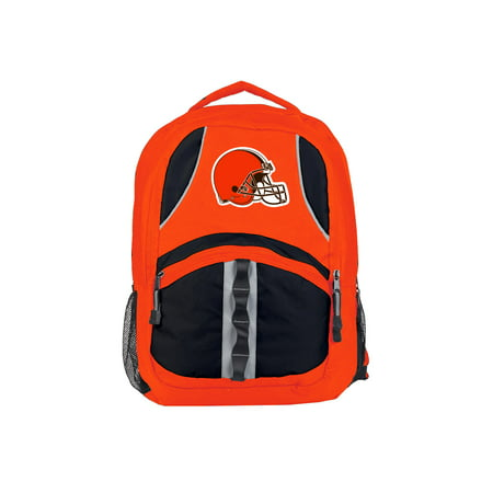 "NFL Cleveland Browns ""Captain"" 18.5""H x 8""L x 13""W Backpack"