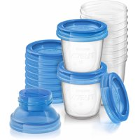 Philips Avent 6-Ounce Breast Milk Storage Starter Set, BPA-Free, 10-Pack, SCF618/10