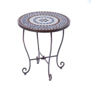 Alfresco Home Tremiti Mosaic Side Table