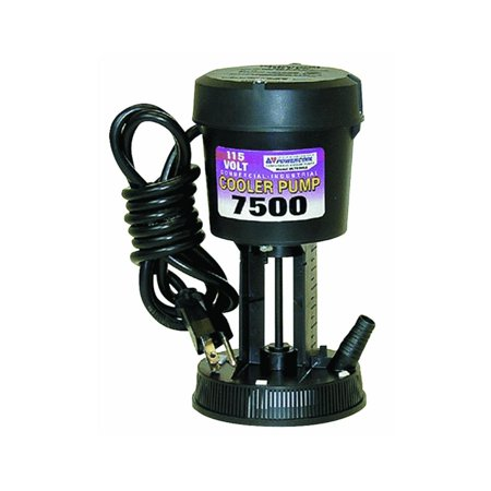 Mfg Inc 1414 Cooler Pump 7500/115v La, DIAL OVERLOAD & GROUNDED PLUG LA7500 PUMP..., By Dial Ship from US