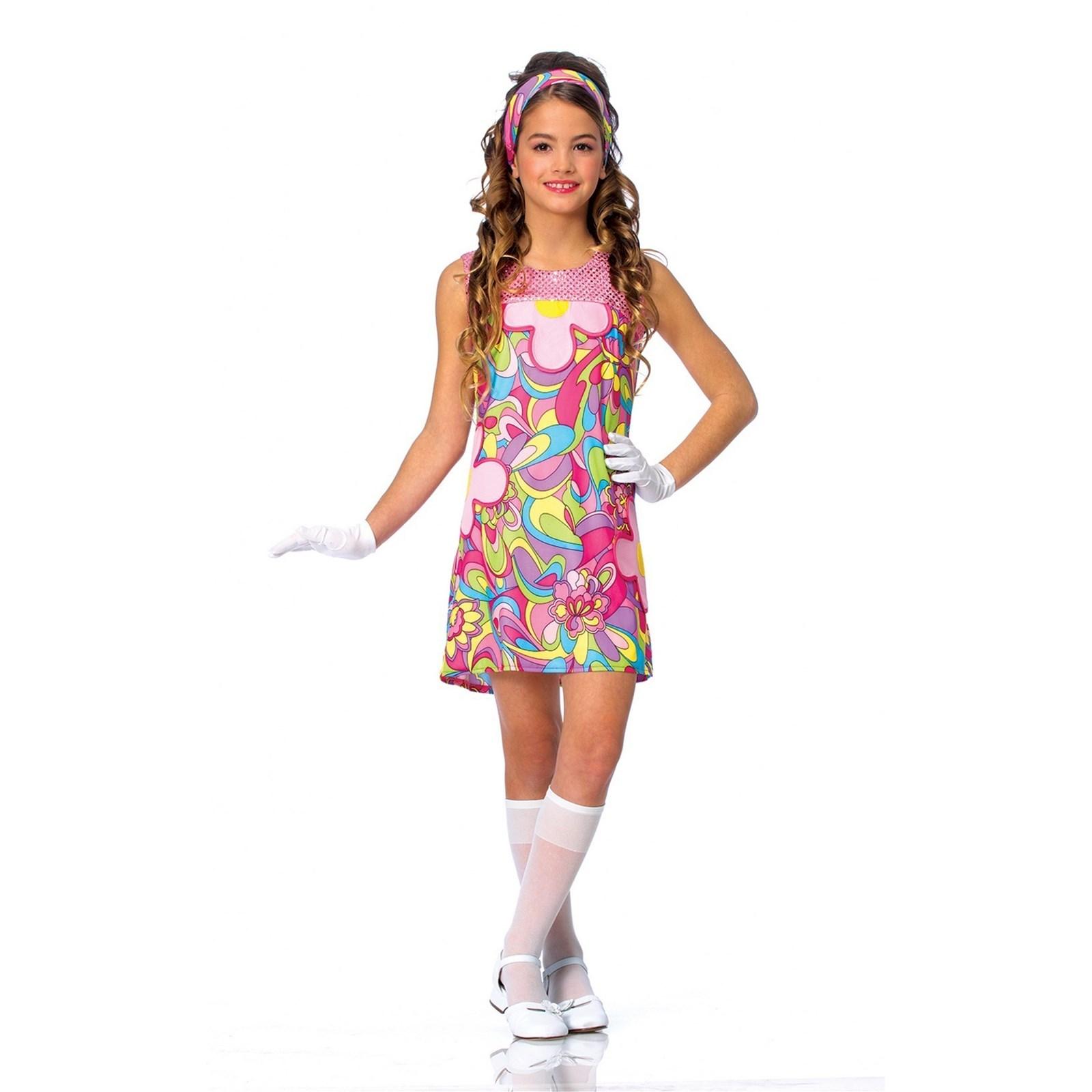 Groovy Girl Child Halloween Costume